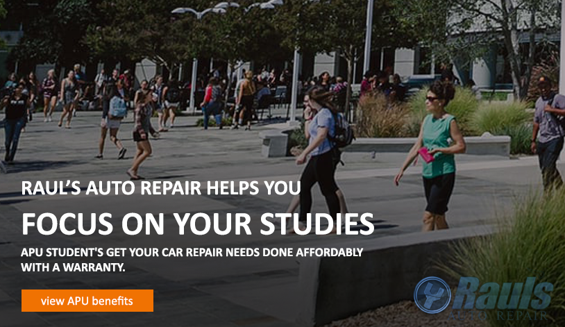 APU Student Car Repair and Service Discount