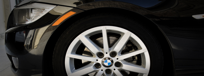 BMW Alignment Service at Raul's Auto Repair